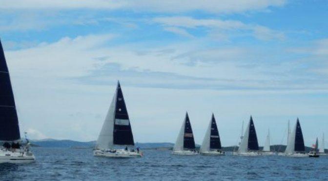 Flotillentörn im Ijsselmeer