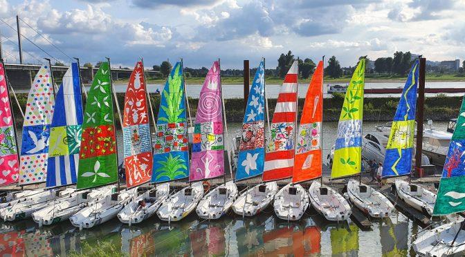 Segeln für mehr Nachhaltigkeit: Kultur-Regatta auf dem Rhein am 25./26. September